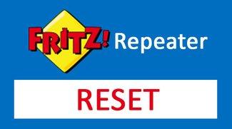 Fritz WLAN Repeater Reset durchführen: so geht's