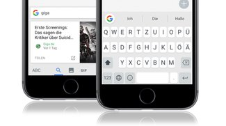 Googles iPhone-Tastatur Gboard jetzt auch mit QWERTZ-Layout für Deutschland