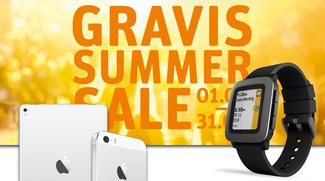 Gravis Summer Sale vom 1. bis zum 31. August: Rabatte auf iPhones, iPads, Macs und Zubehör