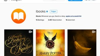 Apples iBooks jetzt mit Instagram-Account