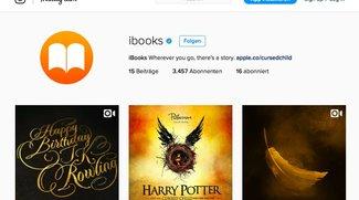 Apples iBooks jetzt mit Instagram-Account