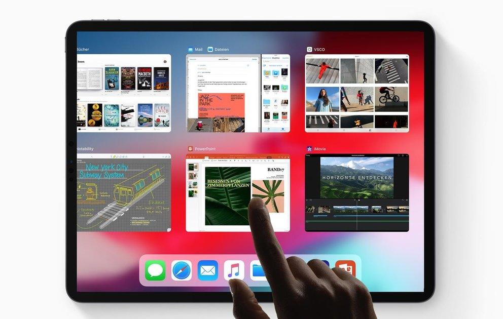 ipad pro 2018 so kommt das power tablet von apple in. Black Bedroom Furniture Sets. Home Design Ideas