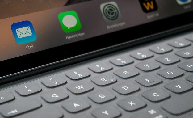 """Smart Keyboard für iPad Pro 12,9"""" im Test: Überzeugendes QWERTZ ohne Escape"""