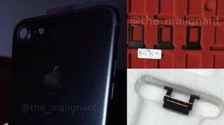 """iPhone 7: Bilder zeigen """"Space Black""""-Komponenten"""