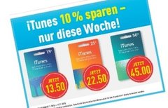 iTunes-Karten mit Rabatt im...