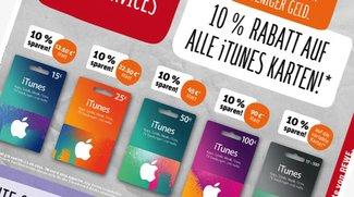iTunes-Karten mit Rabatt im August