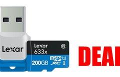 Hammerangebot: 200-GB-microSD...
