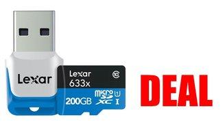Hammerangebot: 200-GB-microSD zum Schnäppchenpreis