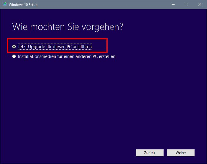 Media Creation Tool: So installiert ihr das Anniversary Update.