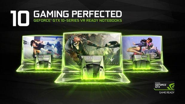GeForce GTX 1080, 1070 und 1060: Mobile-Pascal-Grafikkarten mit Desktop-Leistung vorgestellt