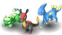Pokémon Uranium - Starter-Pokémon: Trainer-Test erklärt