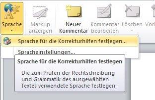 powerpoint-sprache