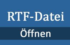 RTF-Datei öffnen – so...