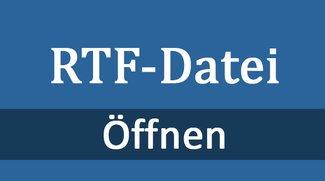 RTF-Datei öffnen – so geht's
