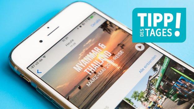 """""""Rückblicke"""" in iOS 11: Filme anpassen, so gehts"""