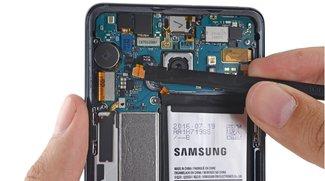 Samsung Galaxy Note 7 im Teardown: Laut iFixit nur schwer zu reparieren
