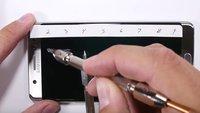 Trotz Gorilla Glas 5: So erklärt Corning das kratzanfällige Display des Galaxy Note 7