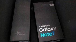 Galaxy Note 7: Verkaufsverpackung verrät technische Daten von Samsungs High-End-Phablet