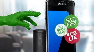 Samsung Galaxy S7 edge kostenlos mit Rundum-Sorglos-Tarif und tollem Zubehör für 39,99 Euro im Monat