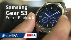 Samsung Gear S3: Erster Eindruck zur ...