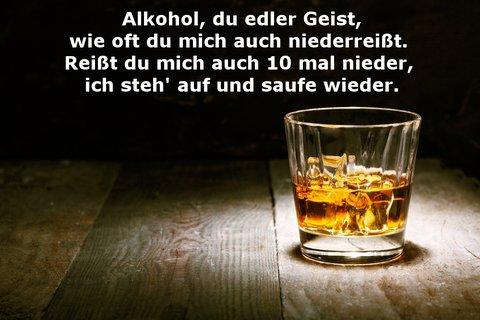 Alkohol sprüche lustig