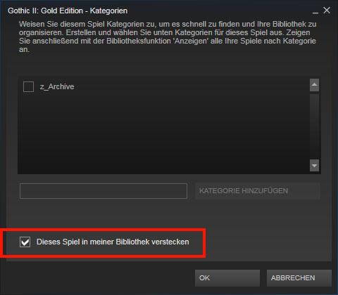 Steam Spiele Deinstallieren