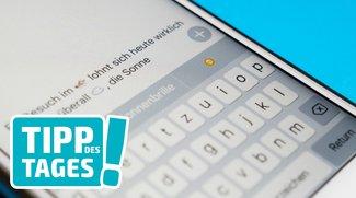 Die Tastatur in iOS 10: Das ist neu beim Tippen auf dem iPhone