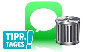 Speicherplatz auf dem iPhone gewinnen: Ausmisten der Nachrichten-App – so wird's gemacht (Tipp)
