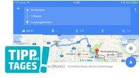 Google Maps: Zwischenziele in Routen festsetzen, so gehts