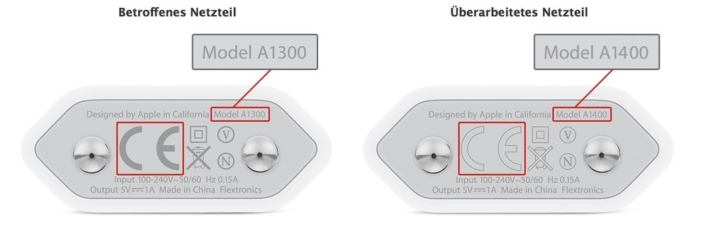 usb-netzstecker-iphone-defekt