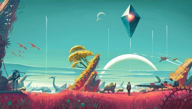 """No Man's Sky: Basen-Bau, Frachter und mehr Features """"definitiv denkbar"""", sollte das Spiel erfolgreich werden"""