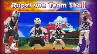 Pokémon Sonne & Mond: Team Skull macht im neuen Trailer Alola-Gegend unsicher
