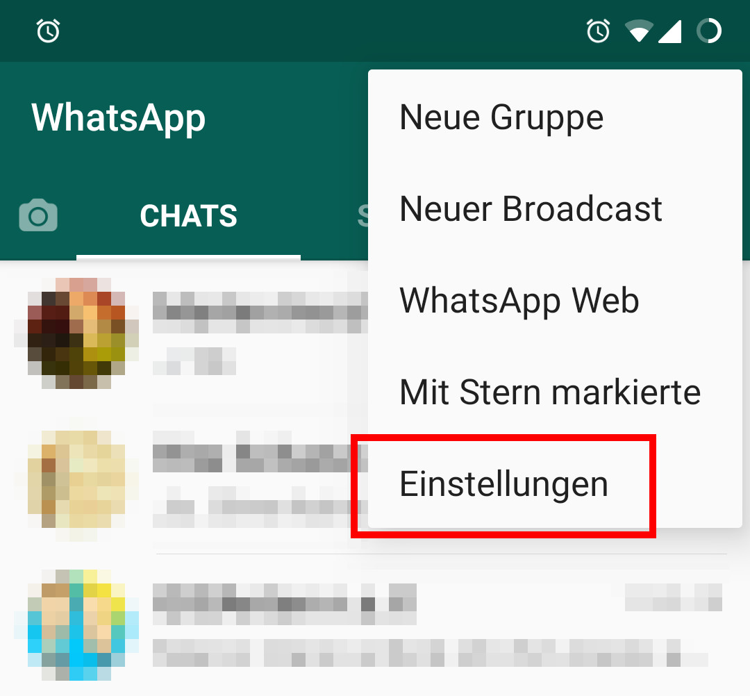 whatsapp blaue haken galaxy s4