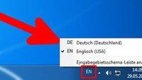 Tastatur von Englisch auf Deutsch umstellen (Tastenkombination) – so geht's