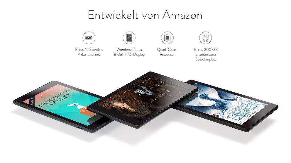 Fire HD 8: Neue Version mit Alexa, mehr Speicher, besserer Performance und Rabatt [Update: Ab sofort erhältlich]