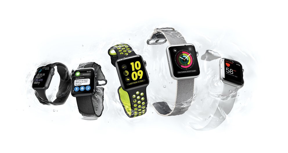 Apple Watch 2 Wasser