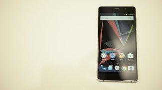 Archos 55 Diamond Selfie: Premium-Smartphone mit guter Ausstattung im Hands-On-Video