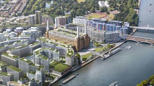 Battersea Power Station wird Apples neues Hauptquartier in London
