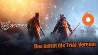 Battlefield 1: Mit EA- und Origin Access nur eingeschränkt spielbar