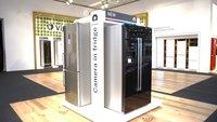 Bosch-Kühlschrank mit Home Connect und zwei Kameras im Hands-On-Video