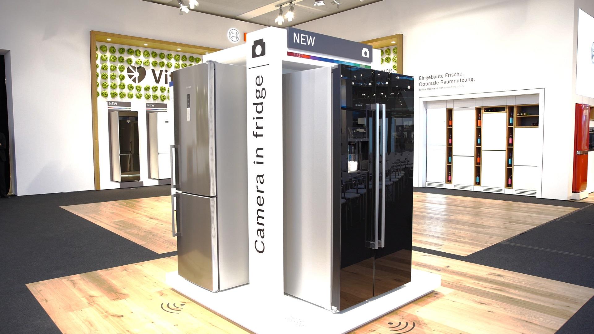 Bosch Kühlschrank Probleme : Bosch kühlschrank mit home connect und zwei kameras im hands on