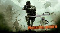 Call of Duty Modern Warfare Remastered: Hierzulande wohl wieder geschnitten
