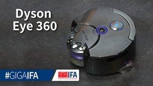 Dyson 360 Eye: Saugroboter mit 360-Grad-Kamera und Raupenantrieb im Hands-On