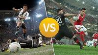 FIFA 17 vs. PES 17: Sieg in der Verlängerung