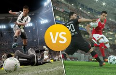 FIFA 17 vs. PES 17: Sieg in...