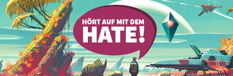 Hate gegen No Man&#039&#x3B;s Sky