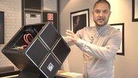 HP Omen X 900: Erster Eindruck vom High-End-Gaming-PC in Würfelform