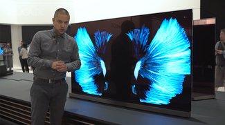 LG Signature OLED 77G6V: Die neue S-Klasse unter den Fernsehern im Hands-On