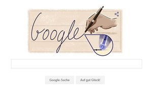 Ladislao José Biro: Erfinder des Kugelschreibers im Google Doodle heute