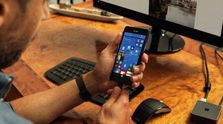 Continuum für Windows 10 Mobile bekommt bald neue Funktionen spendiert